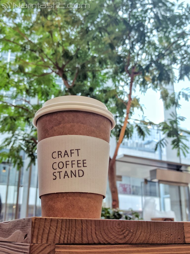 Craft Coffee Stand Cup